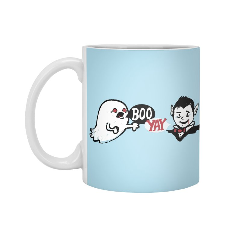 Boo and Yay Accessories Mug by Thomas Orrow