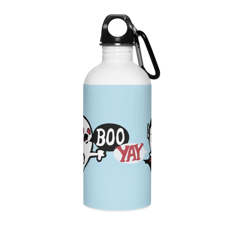 Boo and Yay Accessories Water Bottle by Thomas Orrow