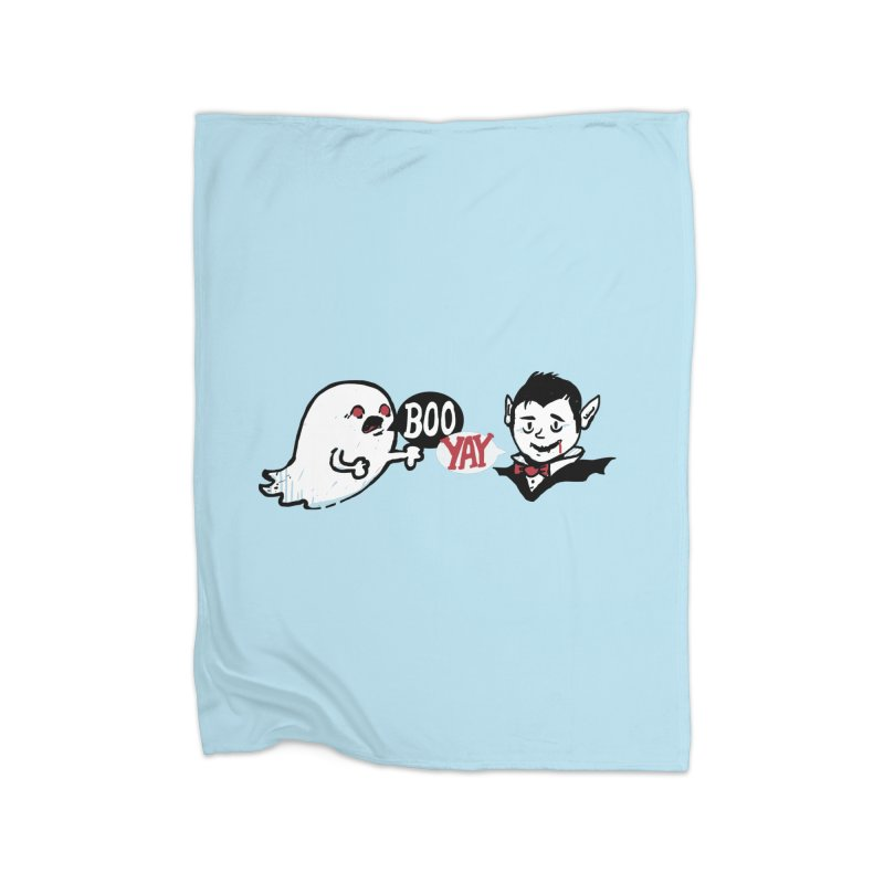 Boo and Yay Home Blanket by Thomas Orrow