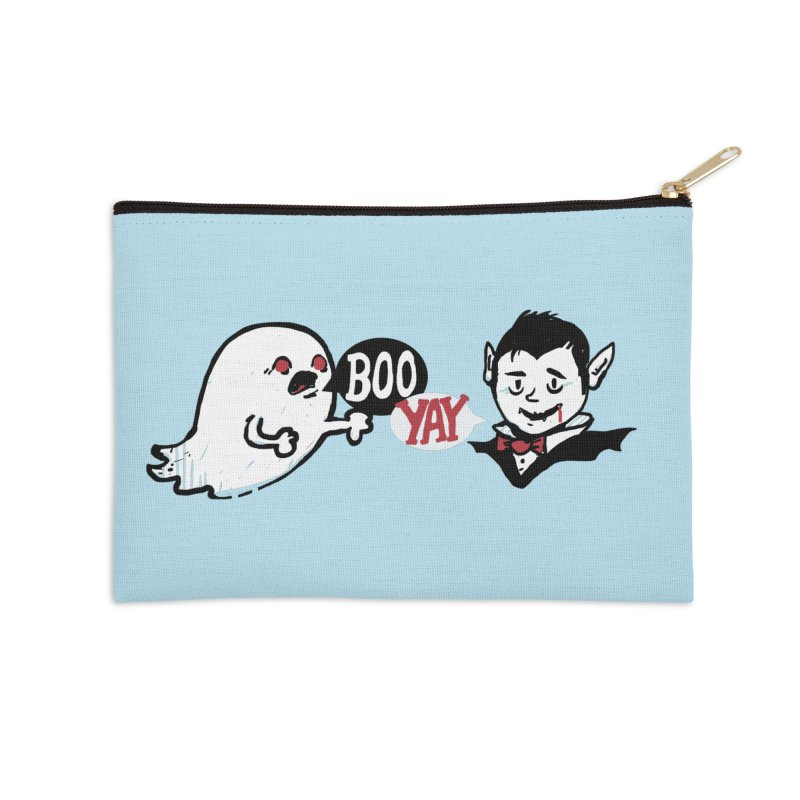 Boo and Yay Accessories Zip Pouch by Thomas Orrow