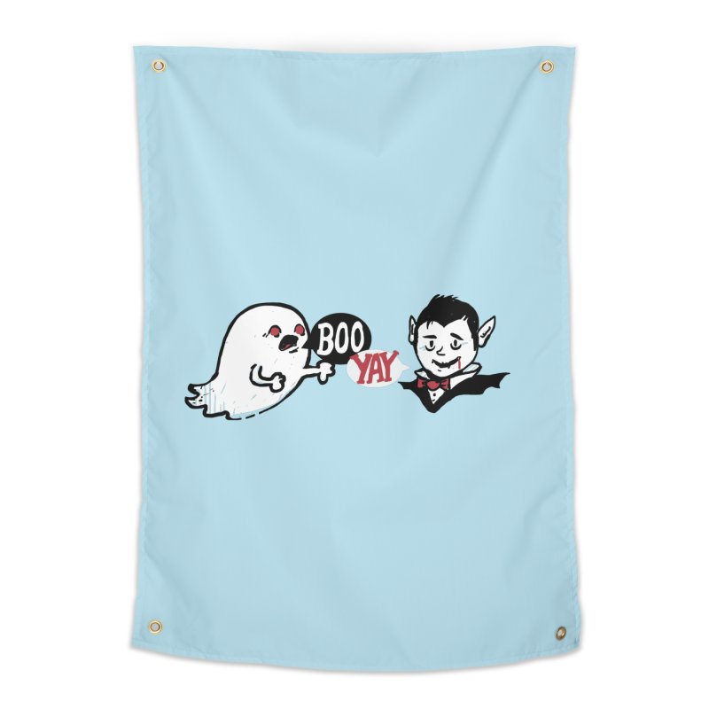 Boo and Yay Home Tapestry by Thomas Orrow