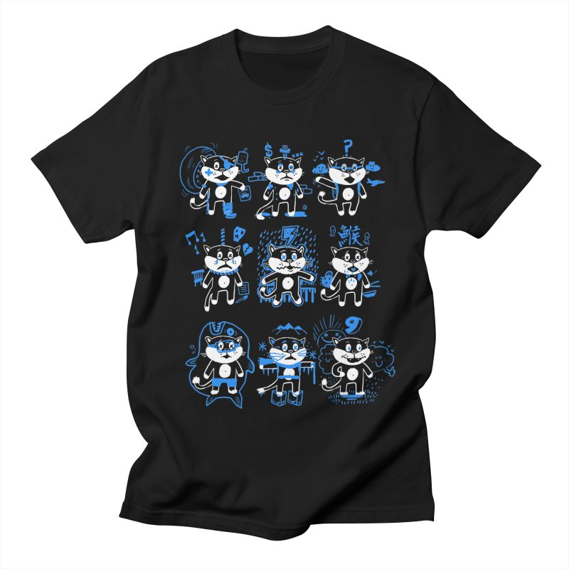 Nine Lives Women's Regular Unisex T-Shirt by Thomas Orrow