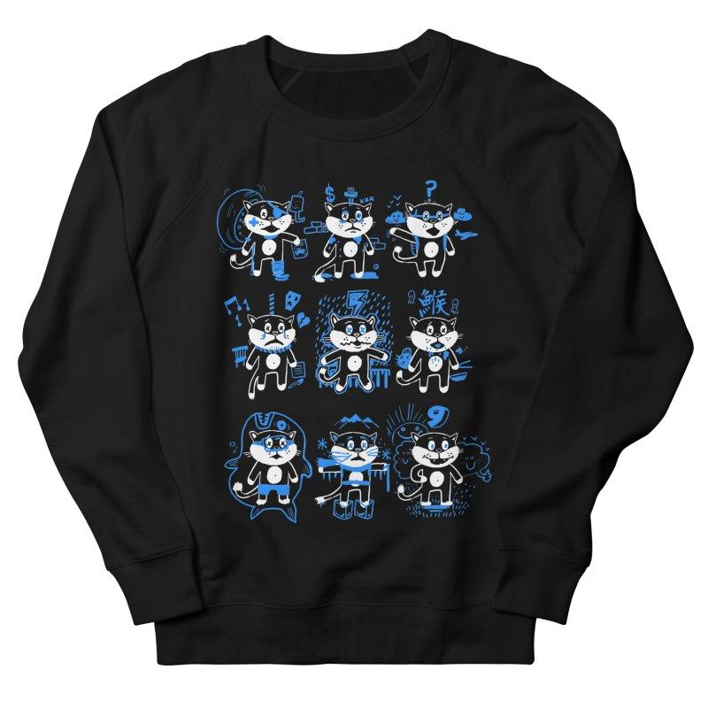 Nine Lives Women's French Terry Sweatshirt by Thomas Orrow