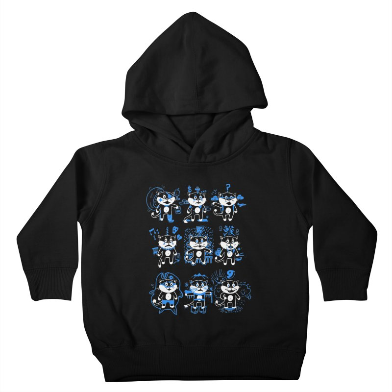 Nine Lives Kids Toddler Pullover Hoody by Thomas Orrow