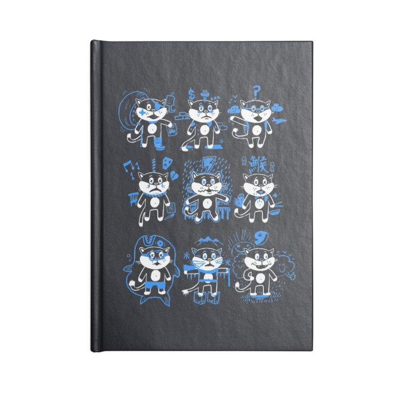 Nine Lives Accessories Notebook by Thomas Orrow