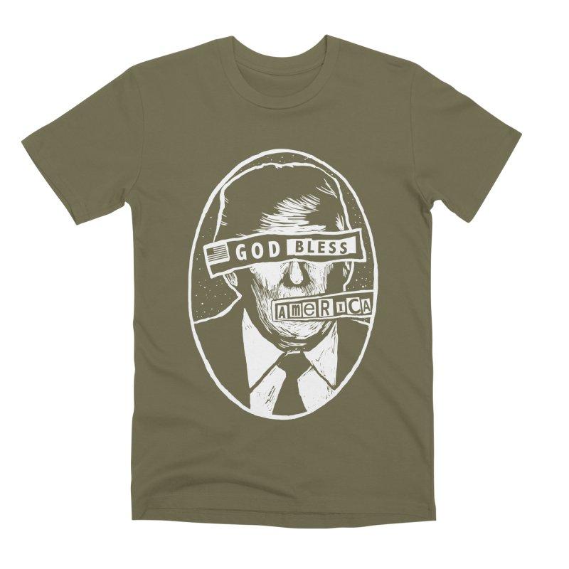 God Bless America Men's Premium T-Shirt by Thomas Orrow