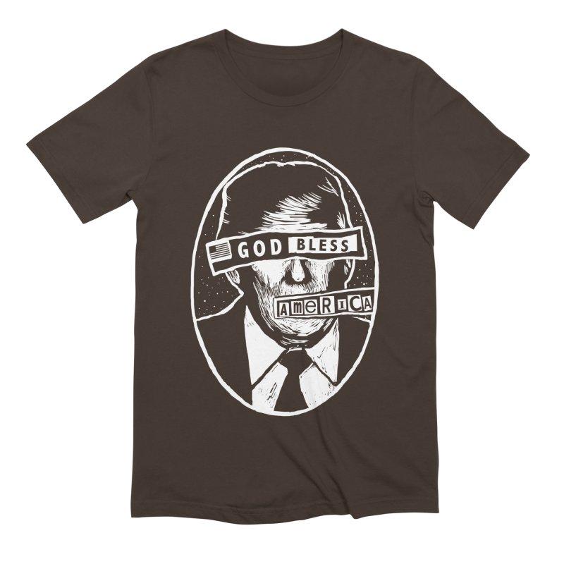 God Bless America Men's Extra Soft T-Shirt by Thomas Orrow