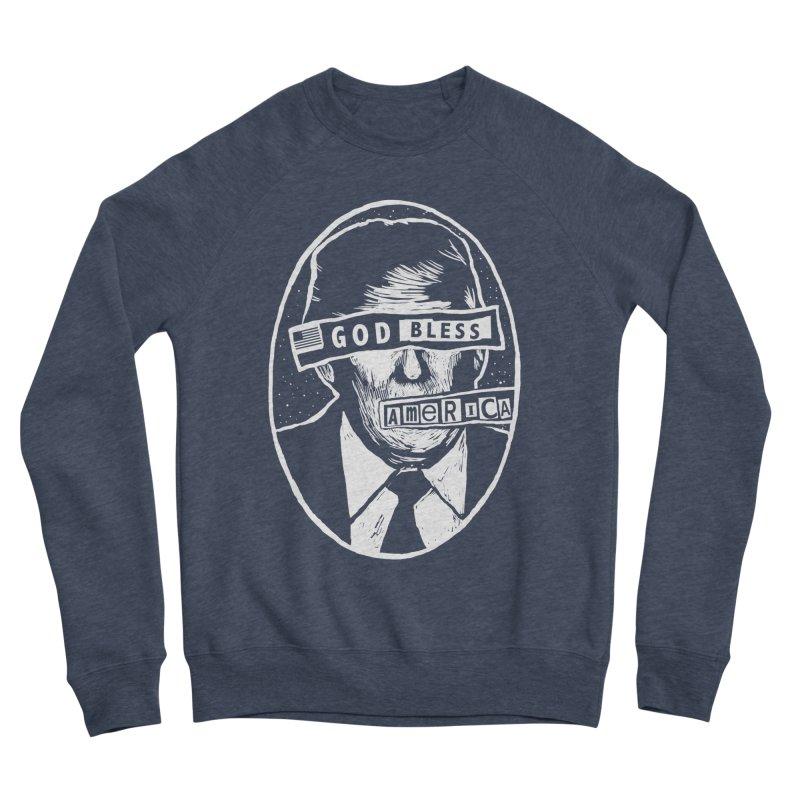 God Bless America Men's Sponge Fleece Sweatshirt by Thomas Orrow