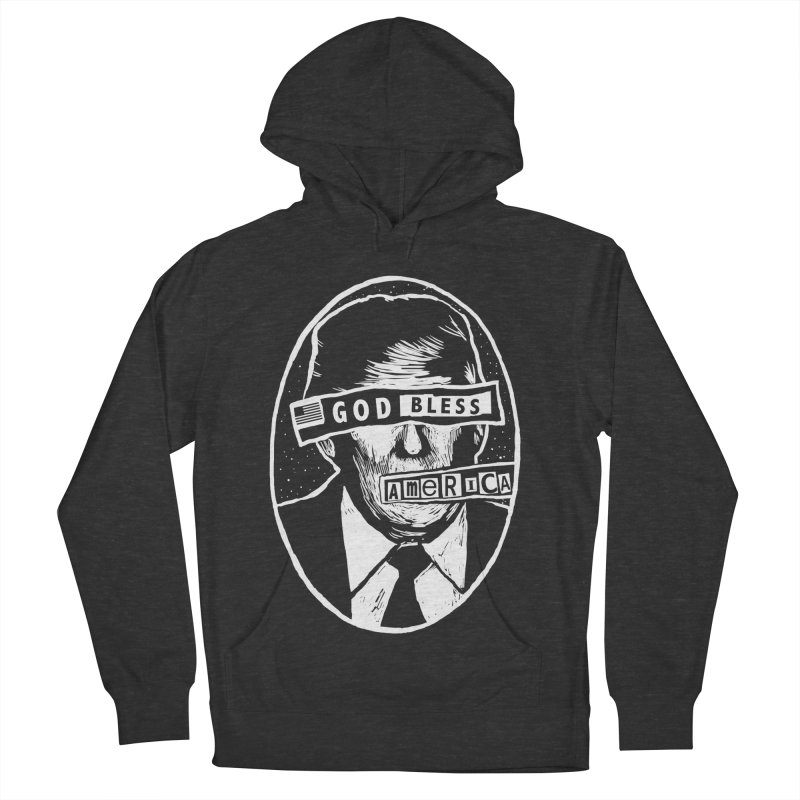 God Bless America Men's French Terry Pullover Hoody by Thomas Orrow