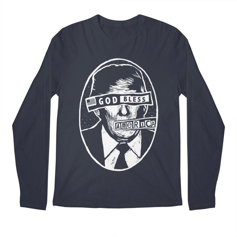 God Bless America Men's Regular Longsleeve T-Shirt by Thomas Orrow