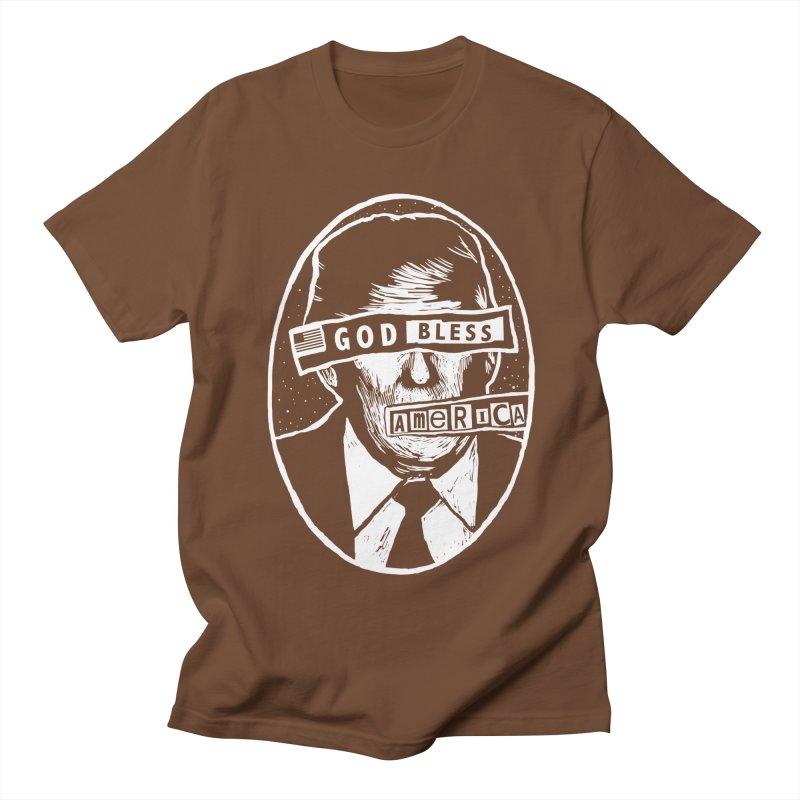 God Bless America Men's Regular T-Shirt by Thomas Orrow