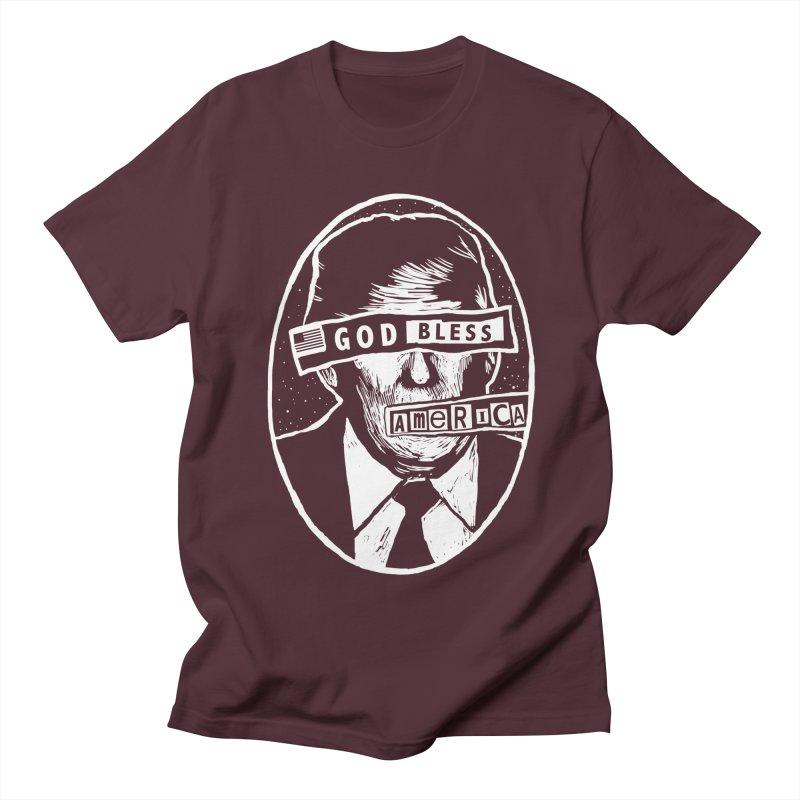 God Bless America Women's Regular Unisex T-Shirt by Thomas Orrow