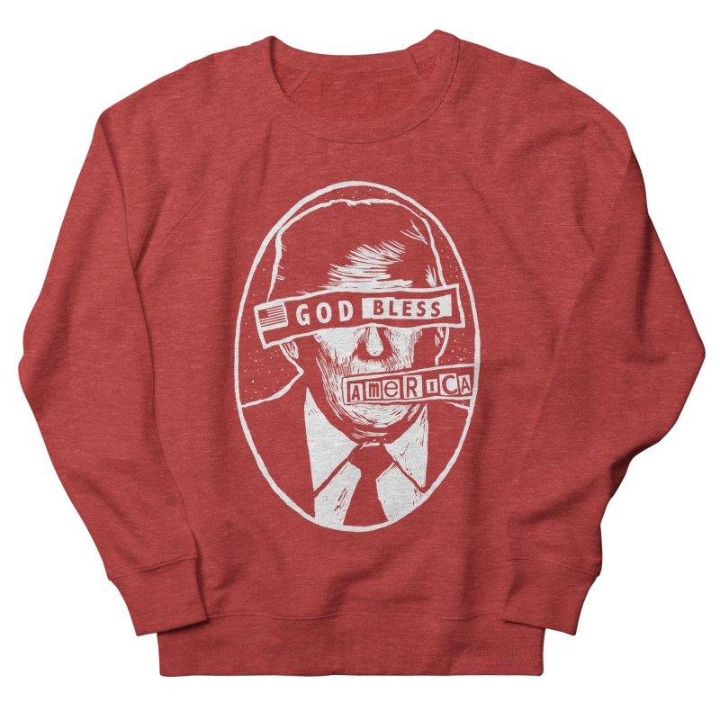 God Bless America Women's French Terry Sweatshirt by Thomas Orrow