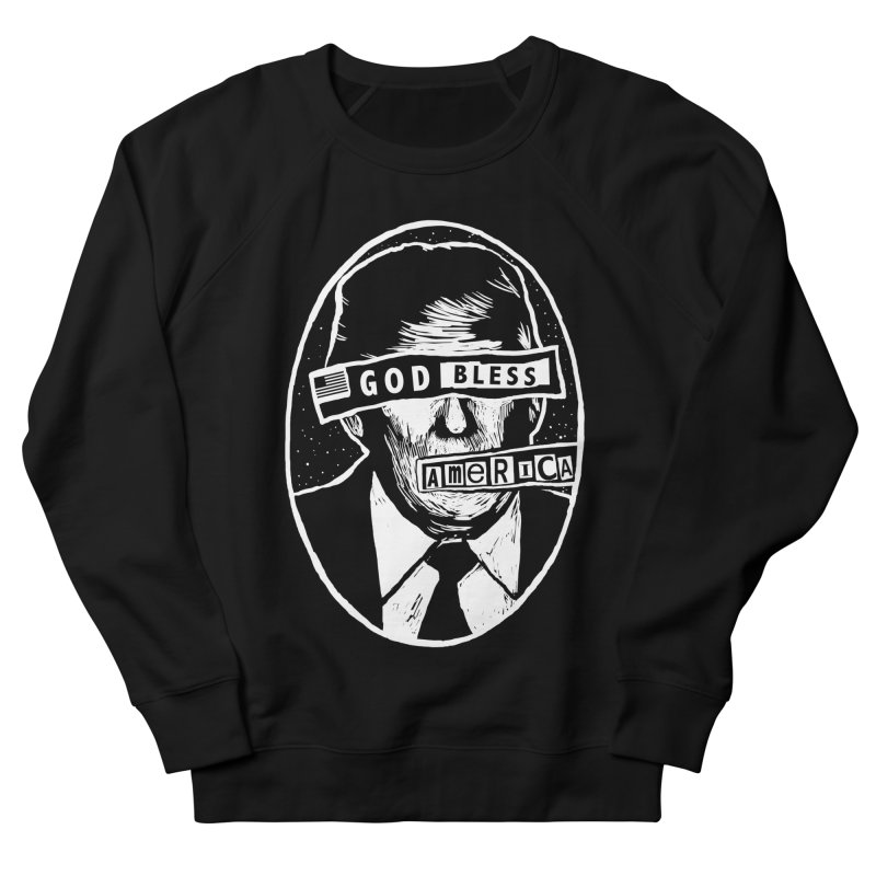 God Bless America Men's French Terry Sweatshirt by Thomas Orrow