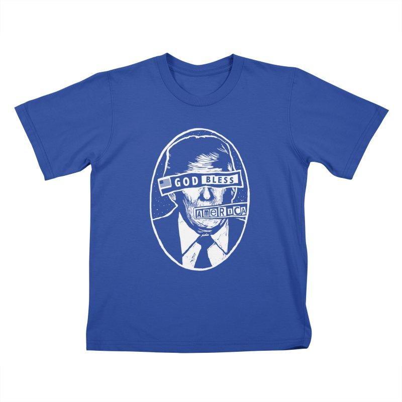 God Bless America Kids T-Shirt by Thomas Orrow