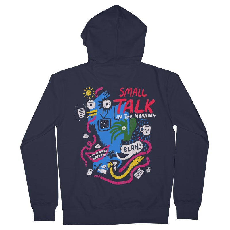 The Horror of Small Talk Women's French Terry Zip-Up Hoody by Thomas Orrow