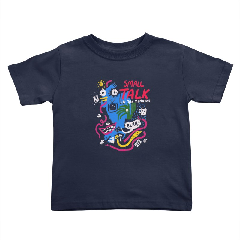 The Horror of Small Talk Kids Toddler T-Shirt by Thomas Orrow