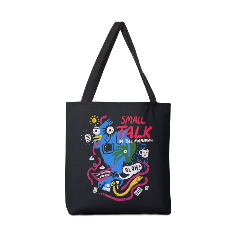 The Horror of Small Talk Accessories Bag by Thomas Orrow