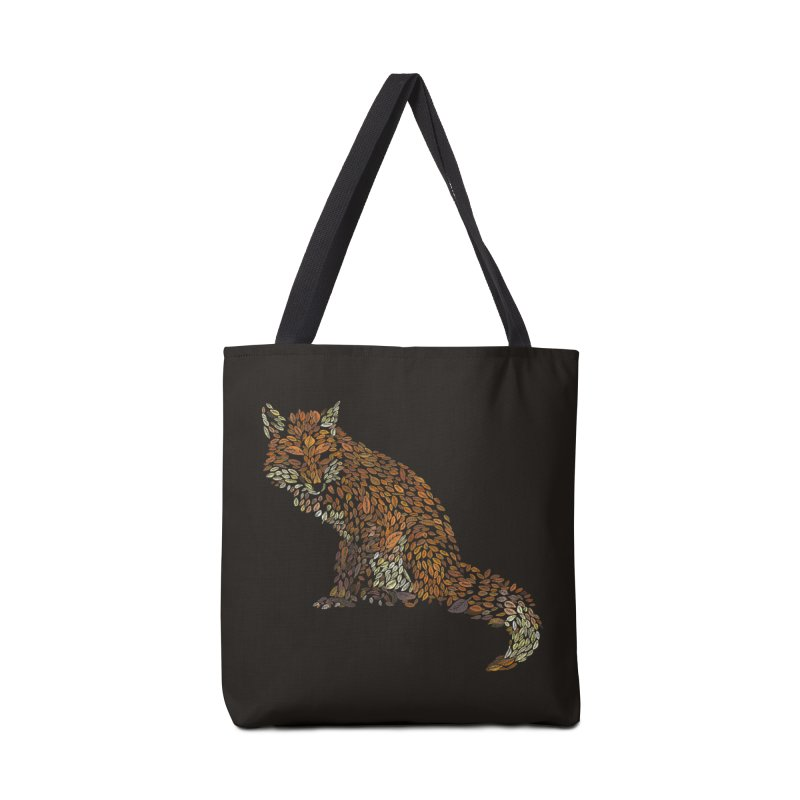 The Fox Leaves at Midnight Accessories Bag by Thomas Orrow