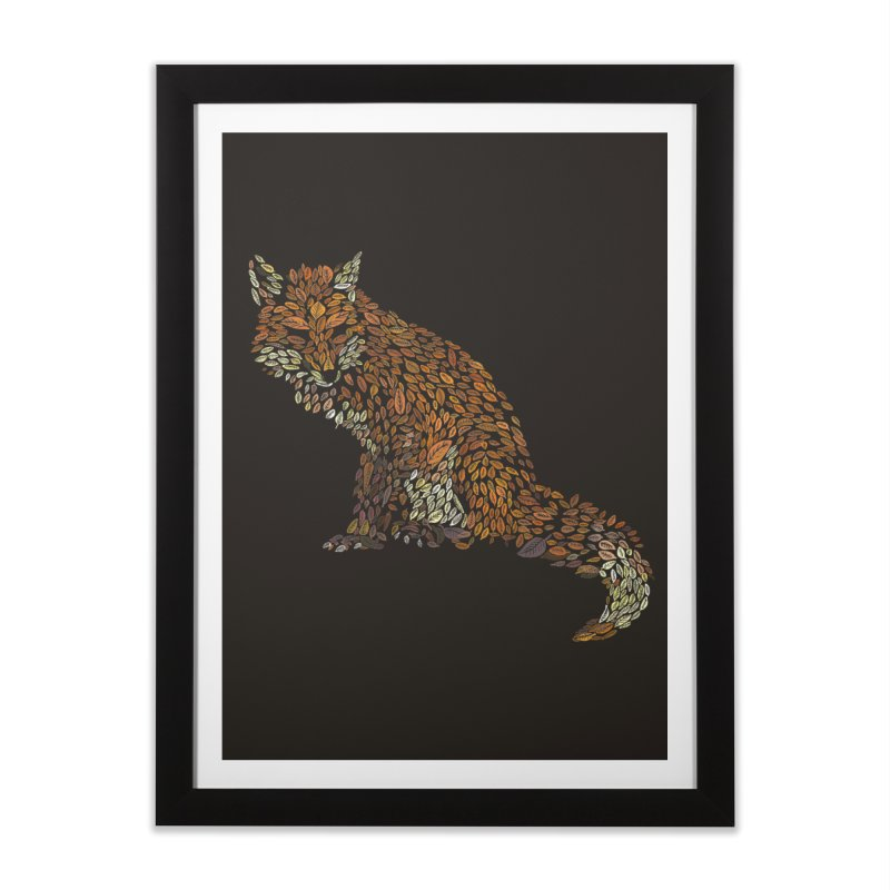 The Fox Leaves at Midnight Home Framed Fine Art Print by Thomas Orrow