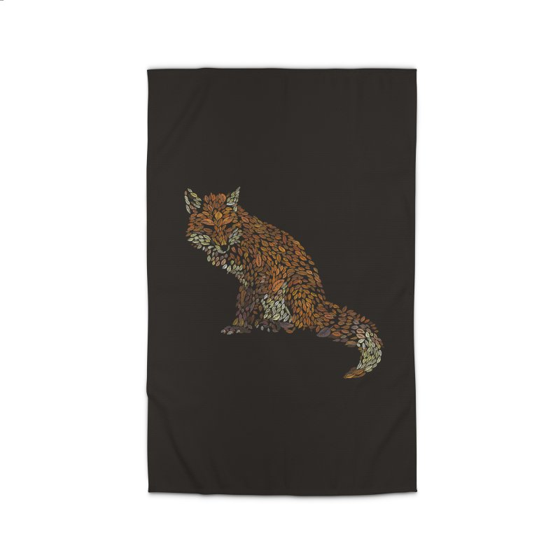 The Fox Leaves at Midnight Home Rug by Thomas Orrow
