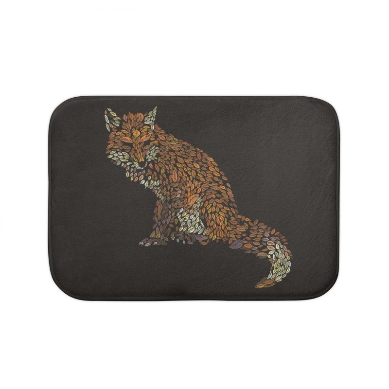 The Fox Leaves at Midnight Home Bath Mat by Thomas Orrow