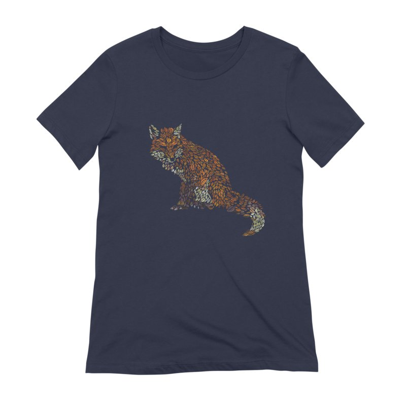 The Fox Leaves at Midnight Women's Extra Soft T-Shirt by Thomas Orrow