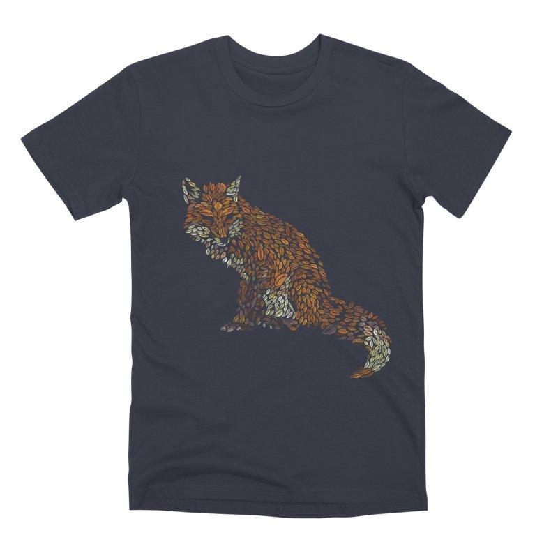 The Fox Leaves at Midnight Men's Premium T-Shirt by Thomas Orrow