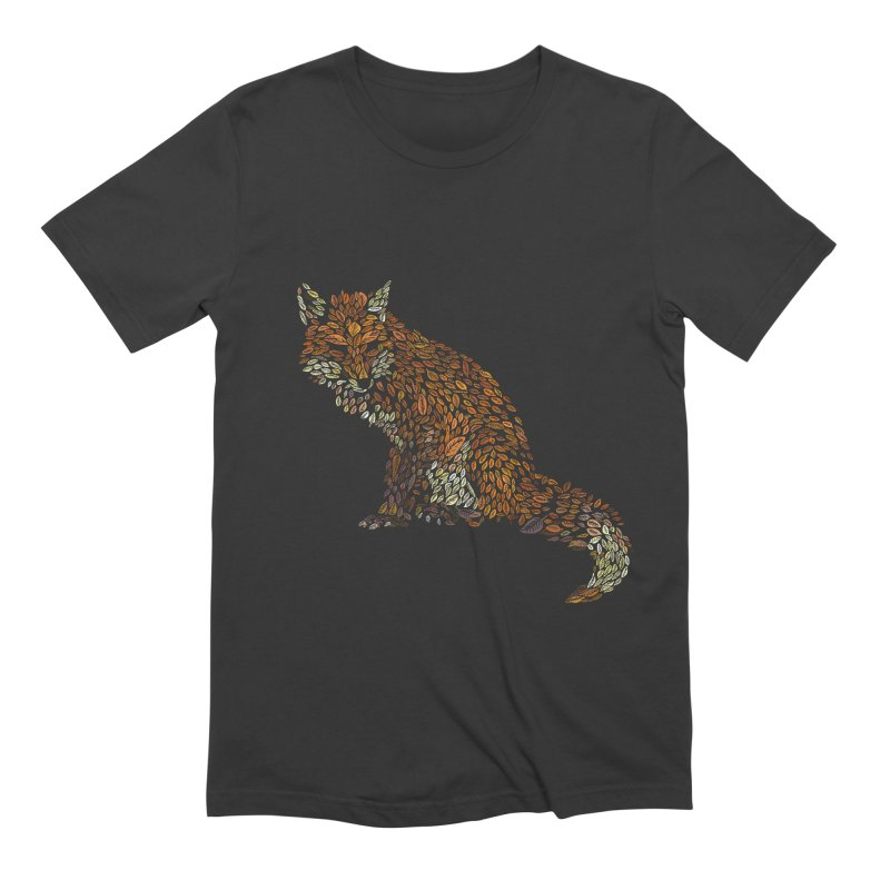 The Fox Leaves at Midnight Men's Extra Soft T-Shirt by Thomas Orrow