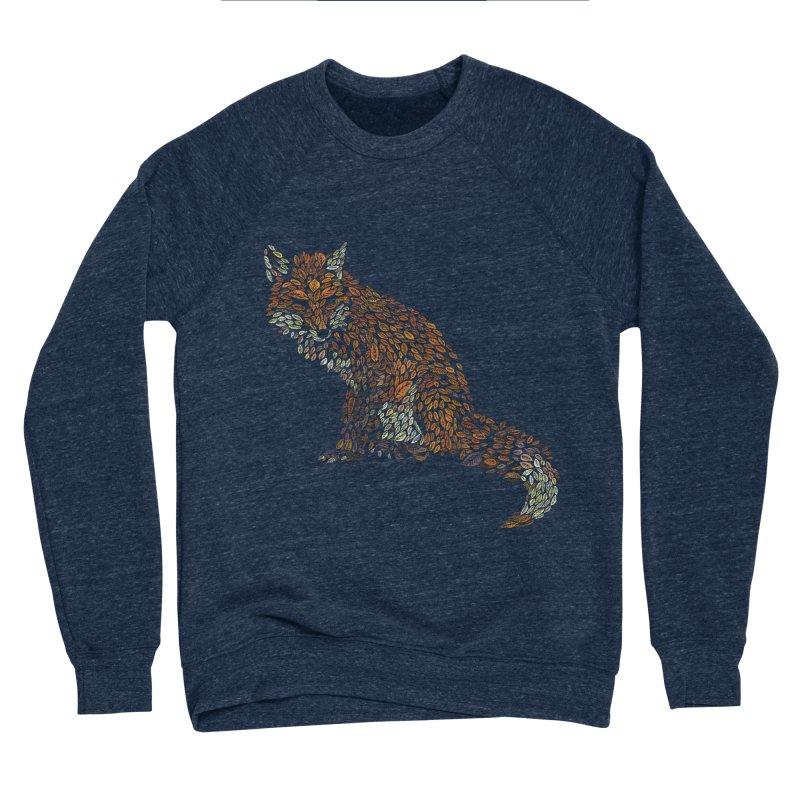 The Fox Leaves at Midnight Men's Sponge Fleece Sweatshirt by Thomas Orrow