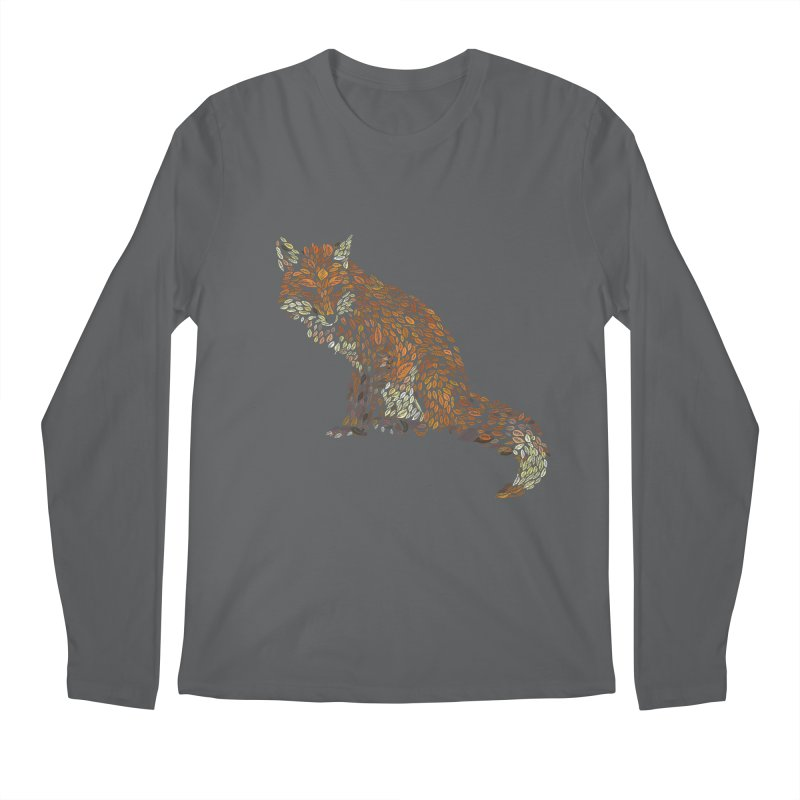 The Fox Leaves at Midnight Men's Regular Longsleeve T-Shirt by Thomas Orrow