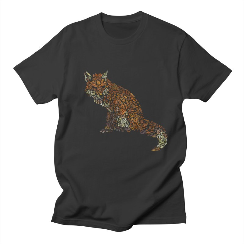 The Fox Leaves at Midnight Women's Regular Unisex T-Shirt by Thomas Orrow