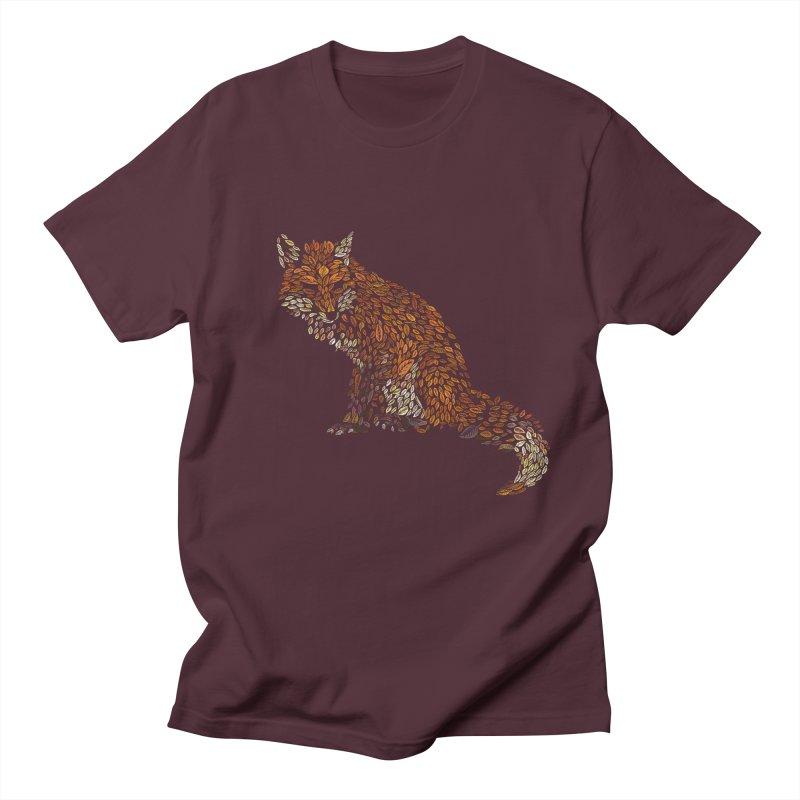 The Fox Leaves at Midnight Men's Regular T-Shirt by Thomas Orrow