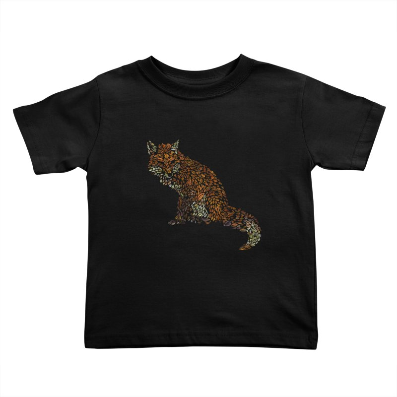 The Fox Leaves at Midnight Kids Toddler T-Shirt by Thomas Orrow