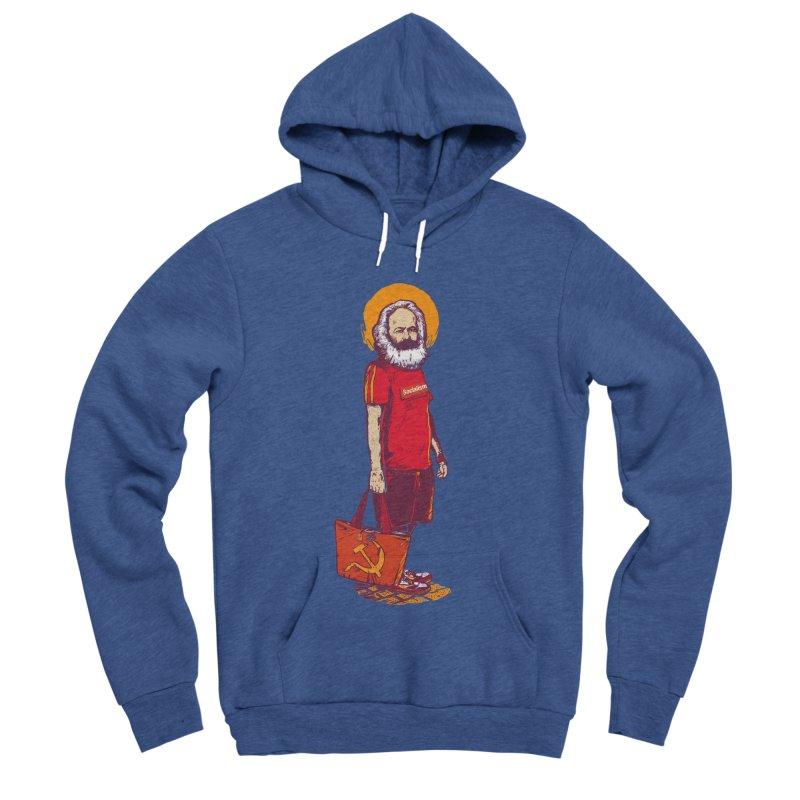 Karl Goes Shopping Women's Sponge Fleece Pullover Hoody by Thomas Orrow