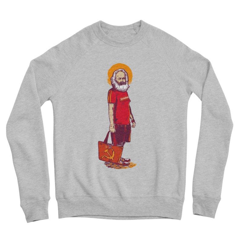 Karl Goes Shopping Women's Sponge Fleece Sweatshirt by Thomas Orrow