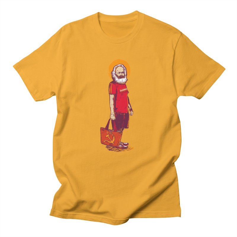 Karl Goes Shopping Men's Regular T-Shirt by Thomas Orrow