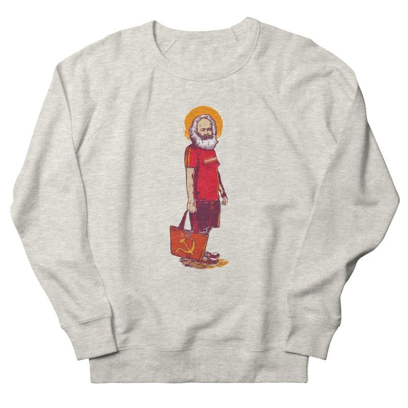Karl Goes Shopping Women's French Terry Sweatshirt by Thomas Orrow