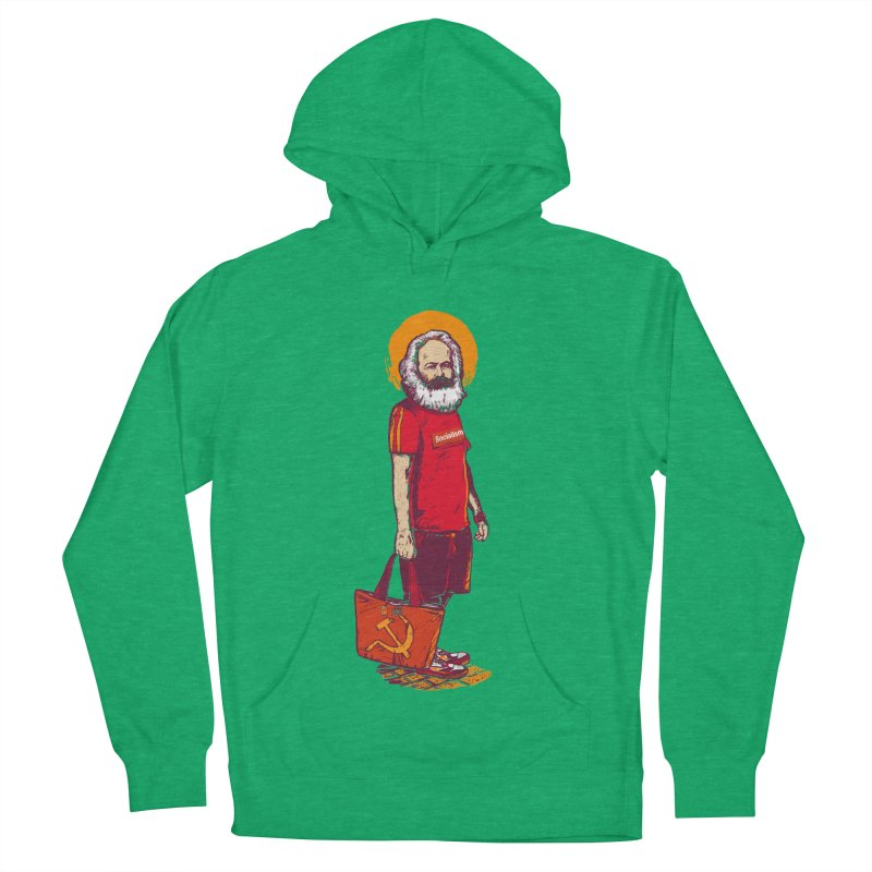 Karl Goes Shopping Women's French Terry Pullover Hoody by Thomas Orrow