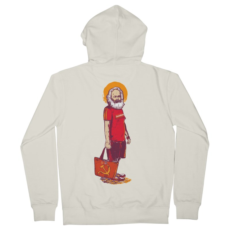 Karl Goes Shopping Women's French Terry Zip-Up Hoody by Thomas Orrow