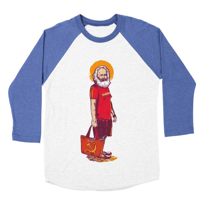 Karl Goes Shopping Women's Baseball Triblend Longsleeve T-Shirt by Thomas Orrow