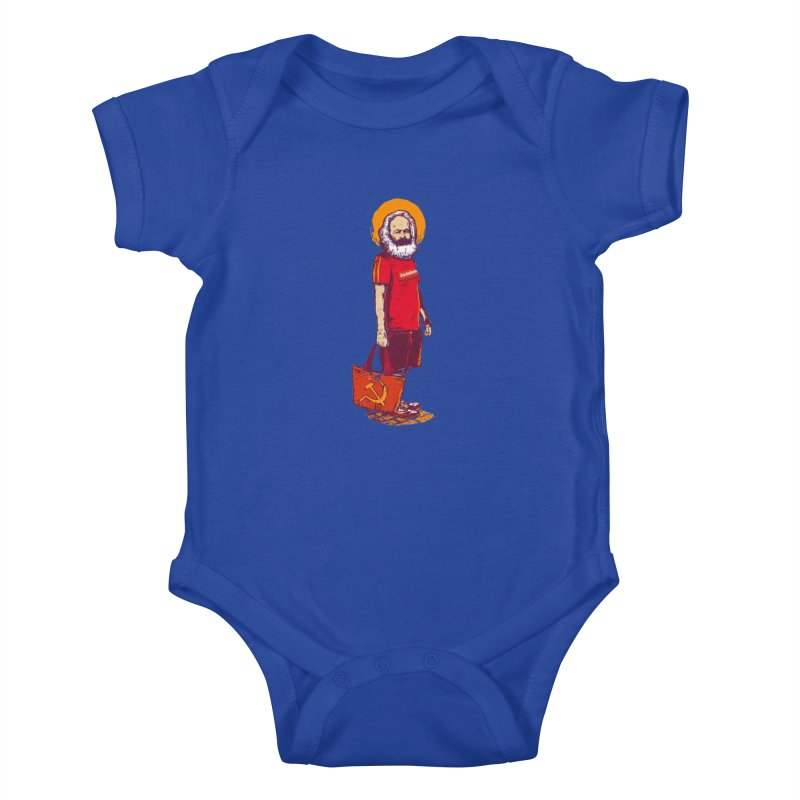 Karl Goes Shopping Kids Baby Bodysuit by Thomas Orrow