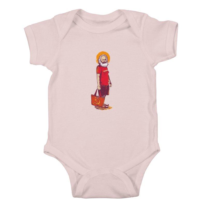 Karl Goes Shopping Kids Baby Bodysuit by Thomas Orrow