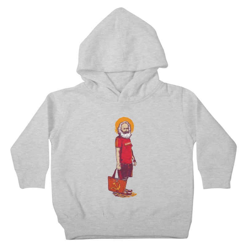 Karl Goes Shopping Kids Toddler Pullover Hoody by Thomas Orrow