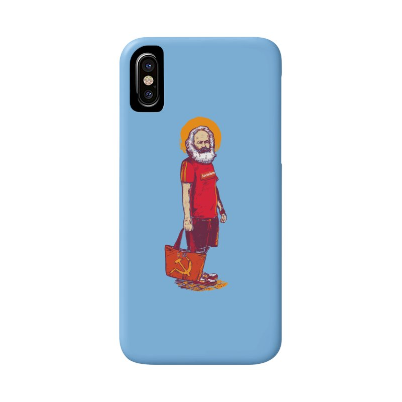 Karl Goes Shopping Accessories Phone Case by Thomas Orrow