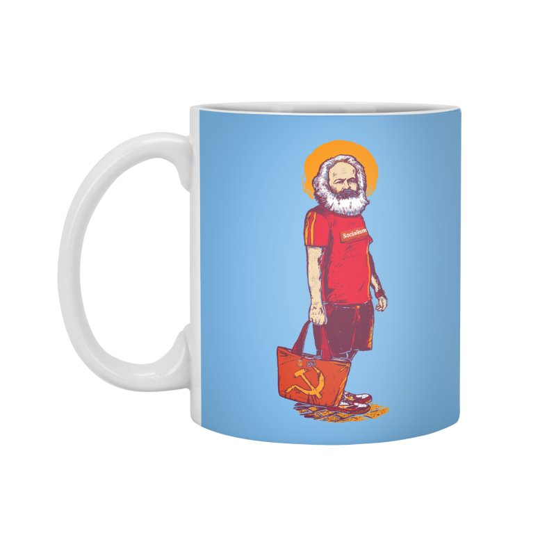 Karl Goes Shopping Accessories Mug by Thomas Orrow