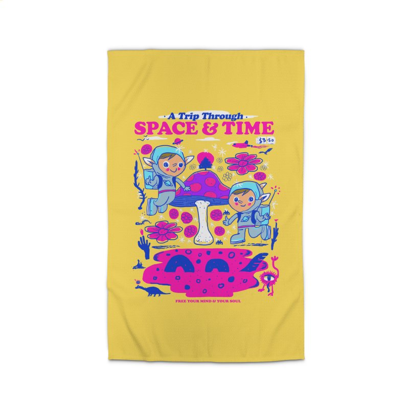 A Trip Through Space and Time Home Rug by Thomas Orrow
