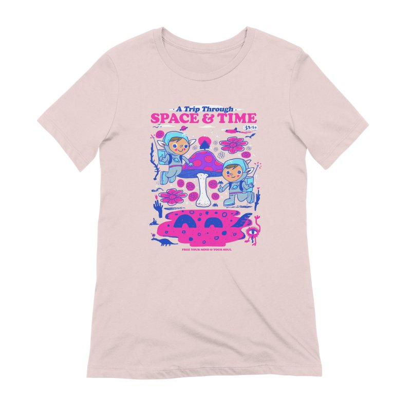 A Trip Through Space and Time Women's Extra Soft T-Shirt by Thomas Orrow