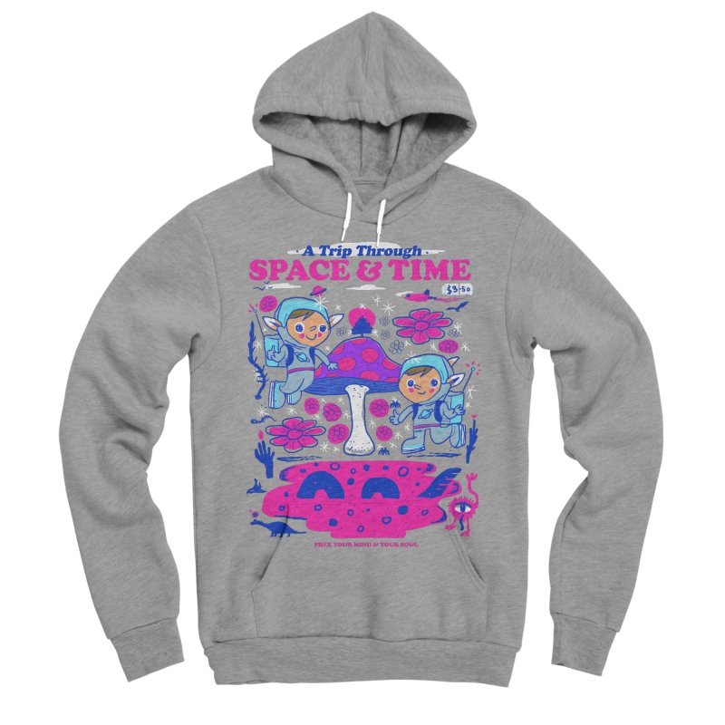 A Trip Through Space and Time Women's Sponge Fleece Pullover Hoody by Thomas Orrow
