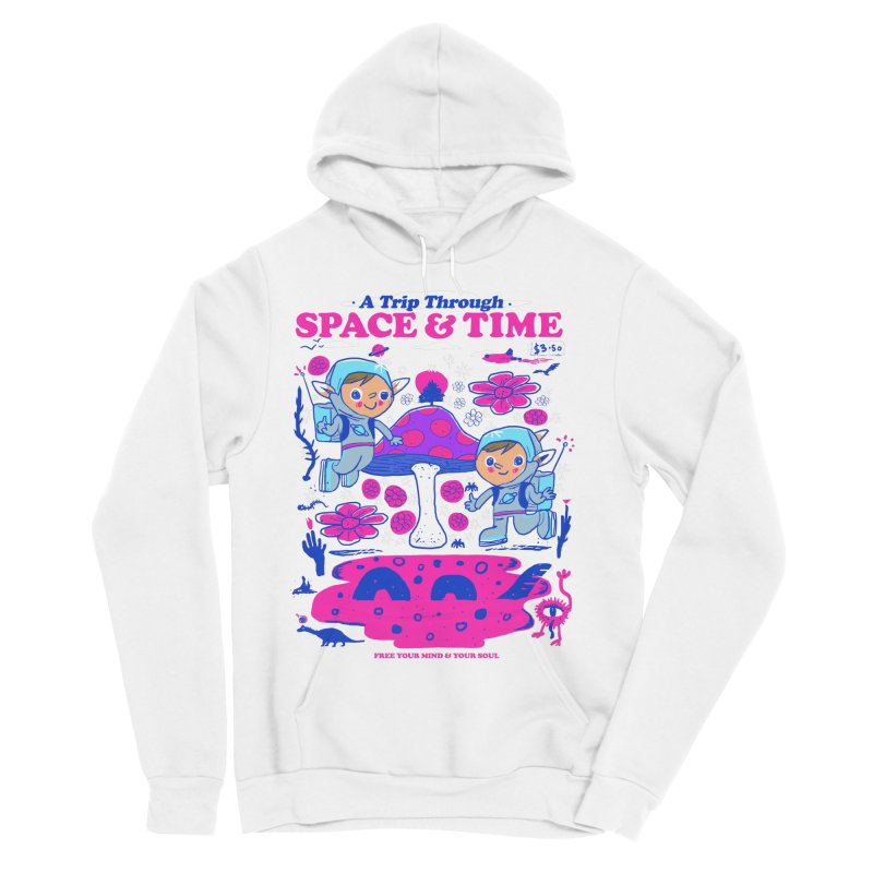 A Trip Through Space and Time Men's Sponge Fleece Pullover Hoody by Thomas Orrow
